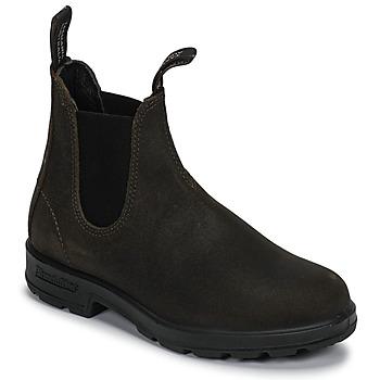 Skor Boots Blundstone ORIGINAL SUEDE CHELSEA BOOTS Kaki