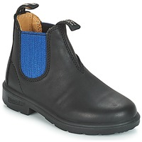 Skor Barn Boots Blundstone KIDS BOOT Svart / Blå