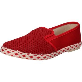Skor Herr Slip-on-skor Caffenero Sneakers AE159 Röd