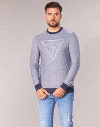 textil Herr Tröjor Guess TAMAC Blå