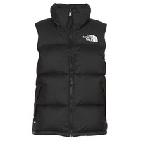 textil Dam Täckjackor The North Face NUPTSE VEST Svart