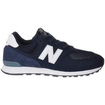 Skor Barn Sneakers New Balance GC574D4 Vit,Grenade
