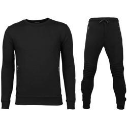 textil Herr Sportoverall Enos Fitnesskläder Gymkläder PAKZ Svart