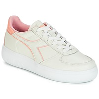 Skor Dam Sneakers Diadora B.ELITE L WIDE WN Benvit / Rosa