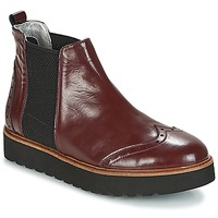 Skor Dam Boots Ippon Vintage HUNTER THICK Bordeaux