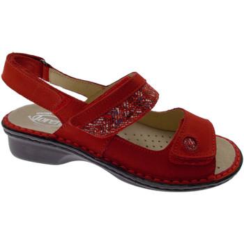 Skor Dam Sandaler Calzaturificio Loren LOM2716ro rosso