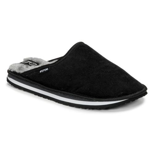 Skor Herr Tofflor Cool shoe HOME Svart / Grå