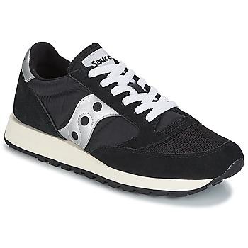 Skor Sneakers Saucony JAZZ ORIGINAL VINTAGE Svart / Vit