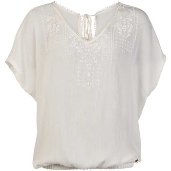 textil Dam Blusar Protest TOP  SEASHELL MUMBY BLOUSE 1615181 BLANCO