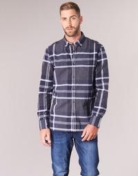 textil Herr Långärmade skjortor Oxbow CAMPO Marin