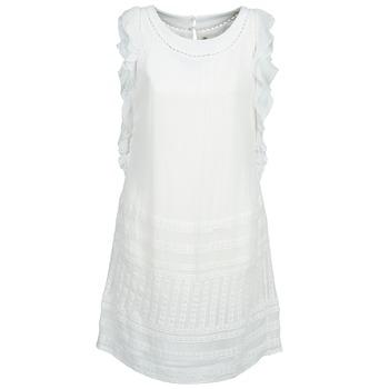textil Dam Korta klänningar Stella Forest AUDRENE Vit