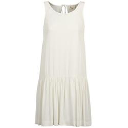 textil Dam Korta klänningar Stella Forest DELFINEZ Benvit