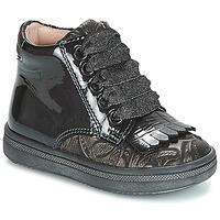 Skor Flickor Höga sneakers Acebo's DOLAGIRI Svart / Silver