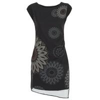 textil Dam Korta klänningar Desigual SANDRINI Svart
