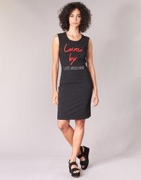 textil Dam Korta klänningar Love Moschino CARININA Svart