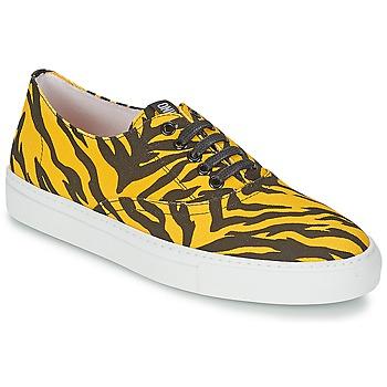 Skor Dam Sneakers Moschino Cheap & CHIC LIBORIA Gul / Svart
