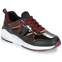 Skor Dam Sneakers Superdry URBAN STREET RUNNER Svart / Bordeaux