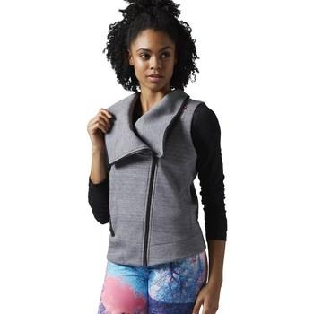 textil Dam Sweatshirts Reebok Sport Lhs Quick Gråa