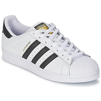 Skor Sneakers adidas Originals SUPERSTAR Vit / Svart