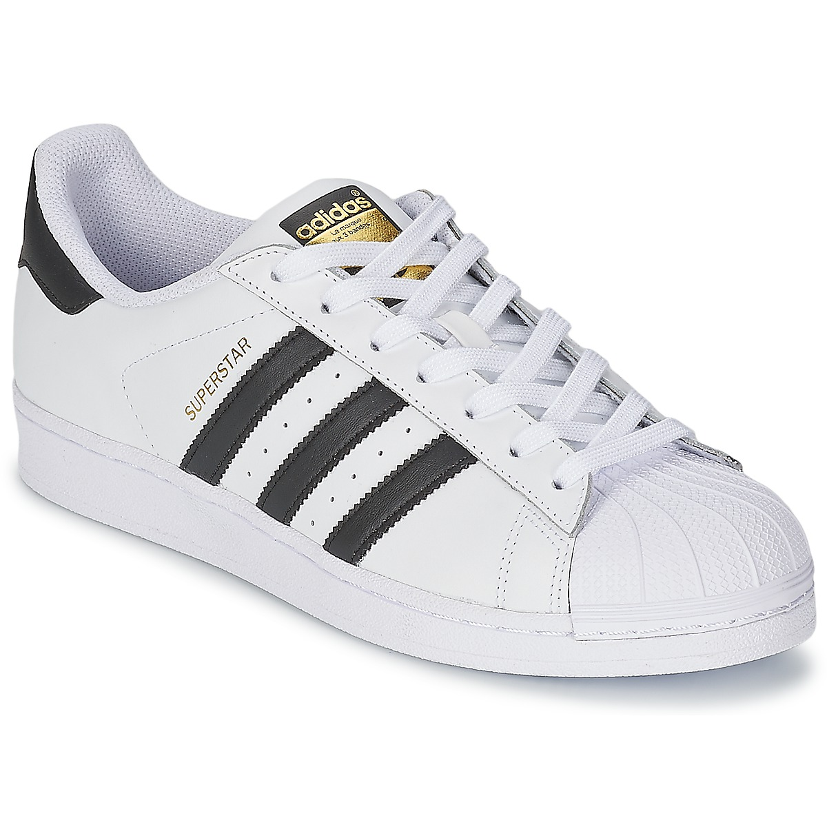 adidas Originals SUPERSTAR Vit / Svart