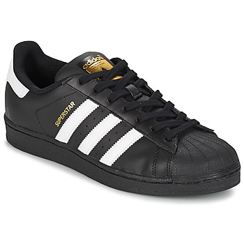 Skor Sneakers adidas Originals SUPERSTAR FOUNDATION Vit / Svart