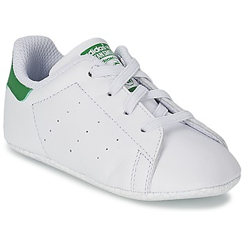 Skor Barn Sneakers adidas Originals STAN SMITH GIFTSET Vit / Grön