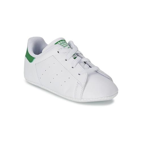 Skor Barn Sneakers adidas Originals STAN SMITH GIFTSET Vit / Grön