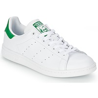 Skor Sneakers adidas Originals STAN SMITH Vit / Grön