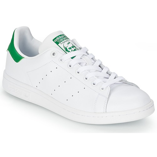 Barn Barnskor Adidas Originals Stan Smith Cf Vitgrön på