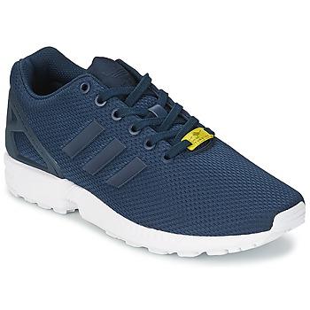 Skor Herr Sneakers adidas Originals ZX FLUX Blå / Vit
