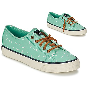 Skor Dam Sneakers Sperry Top-Sider SEACOAST Grön