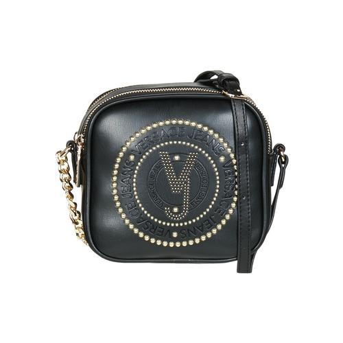 Versace Jeans AMACULA Svart - Fri frakt hos Spartoo.se ! - Väskor ... 140ec4ff9f569