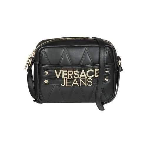 Versace Jeans SOTARA Svart - Fri frakt hos Spartoo.se ! - Väskor ... 098b5842c3ff7