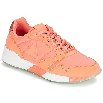 Skor Dam Sneakers Le Coq Sportif OMEGA X W METALLIC Rosa / Korall