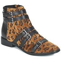 Skor Dam Boots Le Temps des Cerises IZY Leopard