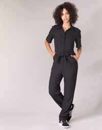 textil Dam Uniform G-Star Raw BRISTUM DC JUMPSUIT Svart