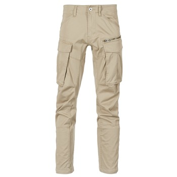 textil Herr Cargobyxor G-Star Raw ROVIC ZIP 3D STRAIGHT TAPERED Beige