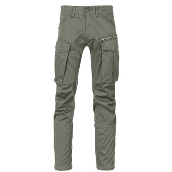 textil Herr Cargobyxor G-Star Raw ROVIC ZIP 3D STRAIGHT TAPERED Grå / Grön