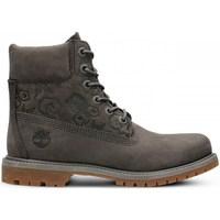 Skor Dam Höga sneakers Timberland 6IN Premium Boot W Gråa
