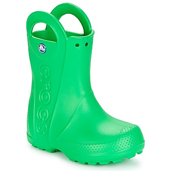 Skor Barn Gummistövlar Crocs HANDLE IT RAIN BOOT KIDS Grön