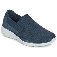 Skor Herr Slip-on-skor Skechers EQUALIZER 3.0 Blå