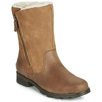 Skor Dam Boots Sorel EMELIE FOLDOVER Kamel