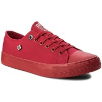 Skor Dam Sneakers Big Star AA274007 Röda