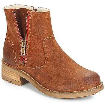 Skor Flick Boots Bullboxer LUNA Brun