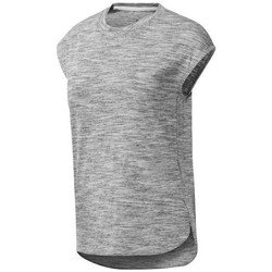textil Dam T-shirts Reebok Sport EL Marble Gråa