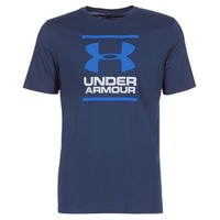 textil Herr T-shirts Under Armour UA GL FOUNDATION SS T Marin