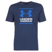 textil Herr T-shirts Under Armour UA GL FOUNDATION SS T Marin