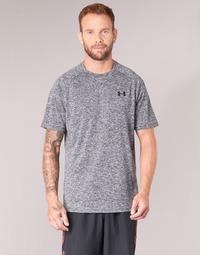 textil Herr T-shirts Under Armour UA TECH SS TEE Grå
