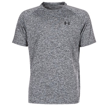 textil Herr T-shirts Under Armour UA TECH SS TEE Grå