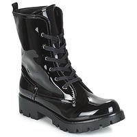Skor Dam Boots Buffalo SKYLIGHT Svart / Lack